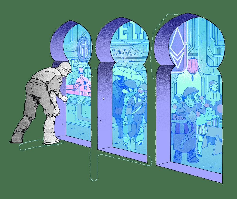 Ethereum bazaar