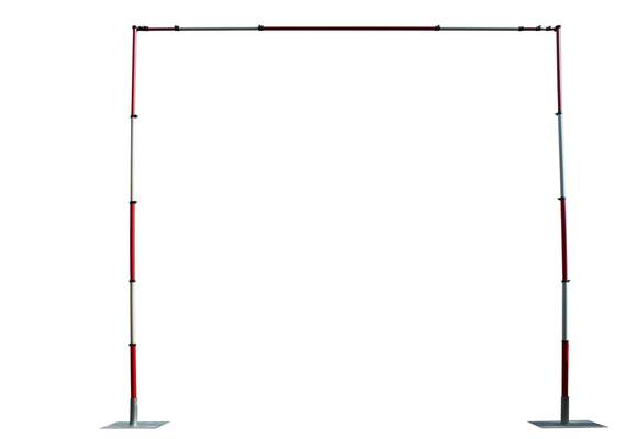 Guardian Goal Post Crossbar & Steel Base