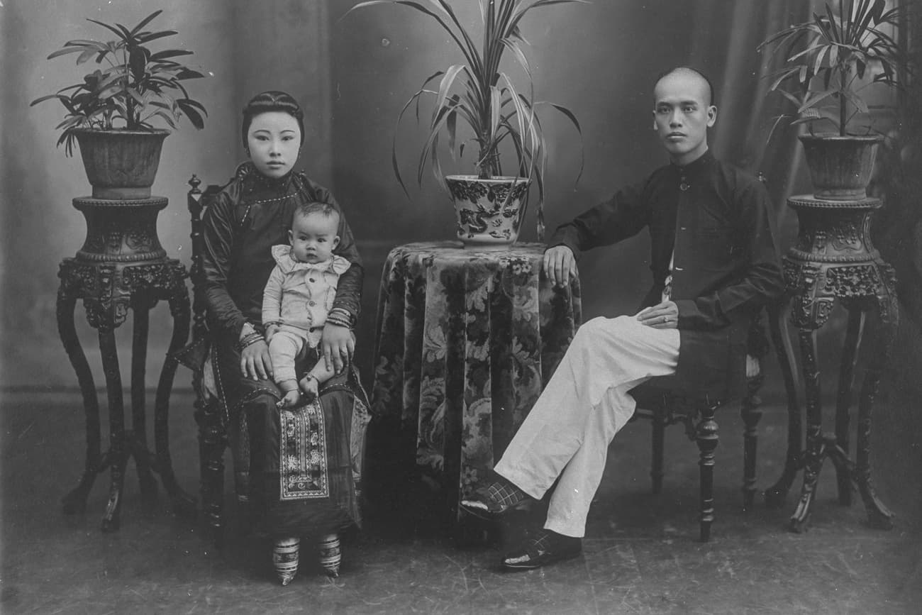 Chinese family, 1900s-1910s