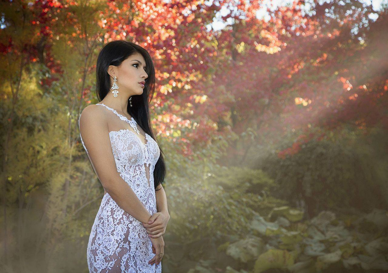 robe de mariee dentelle haute couture designer mariage montreal
