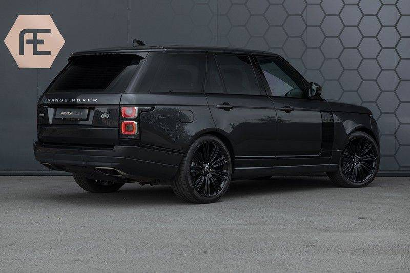 "Land Rover Range Rover 5.0 V8 SC VOGUE Black Pack Elek. Trekhaak, Head-up, 22"", Stoelverkoeling, afbeelding 6"