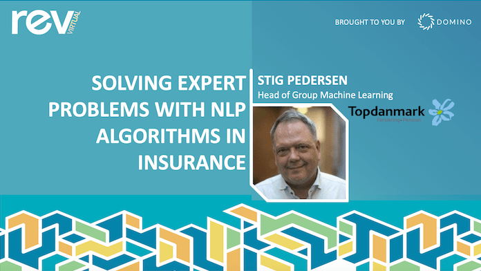 Solving Expert Problems with NLP in Insurance