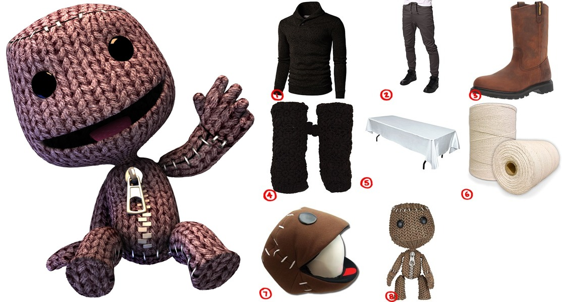 Dress Like the Sack Boy from Little Big Planet Costume for Cosplay u0026 Halloween  sc 1 st  Costumet & Dress Like the Sack Boy from Little Big Planet Costume for Cosplay ...