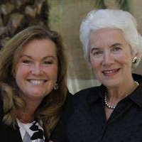 Eva Clarke and Wendy Holden