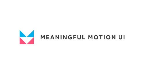 Meaningful Motion UI