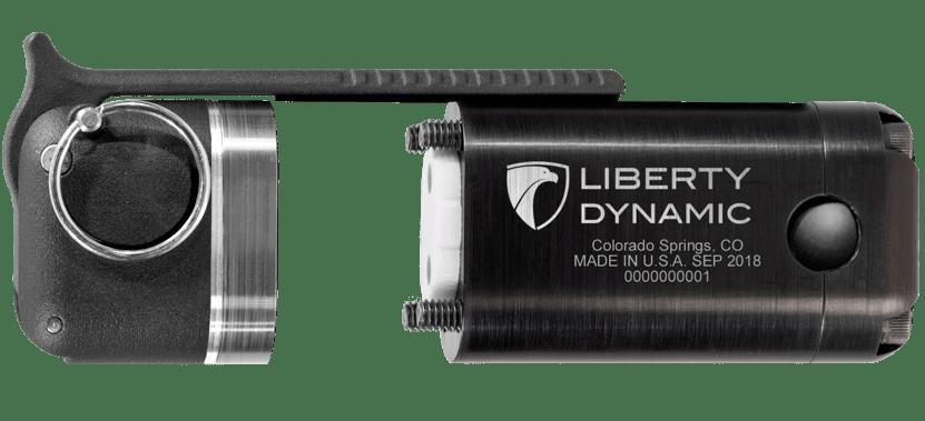 Liberty Dynamic Noise Flash Diversionary Device (NFDD) Flashbang Open View