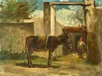 Pissarro's Paysage Montmorency.