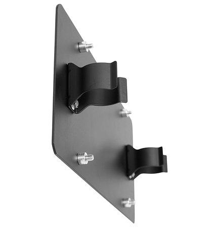 smittybilt winch roller fairlead license plate mount