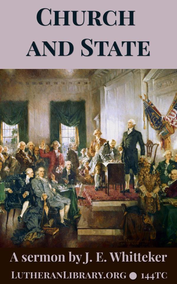 Church and State by John Edwin Whitteker