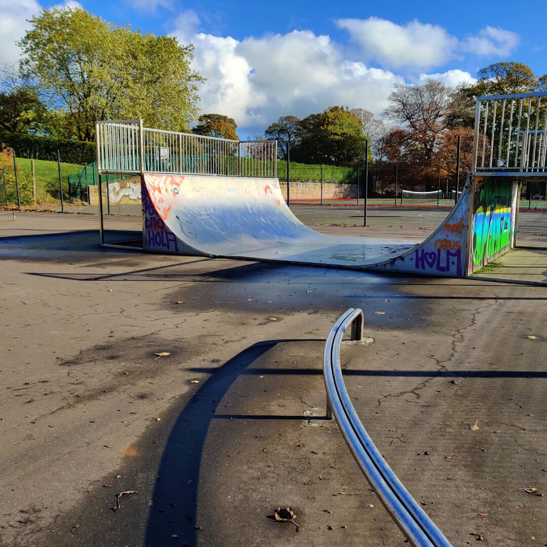 Potternewton Park Skate Ramp