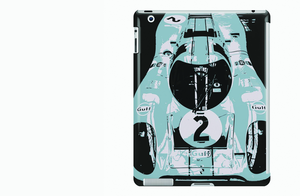 Porsche 917K iPad Snap Case by thespeedart