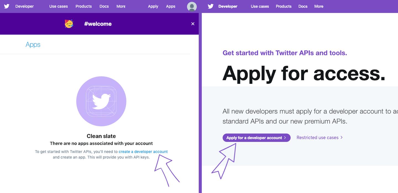 Apply for developer account