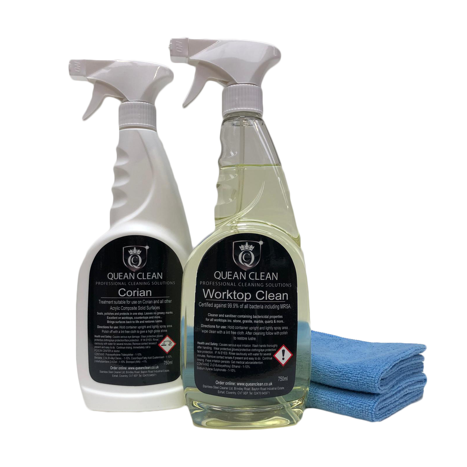Corian Worktop Cleaner and Polish Kit