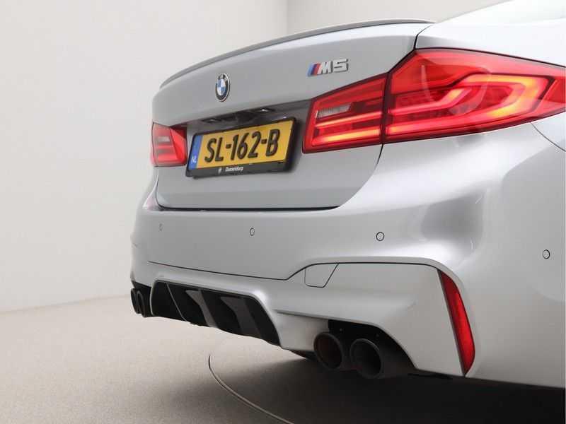 BMW M5 Individual Pure Metal Silver Nw Prijs €. 205.148.- afbeelding 22