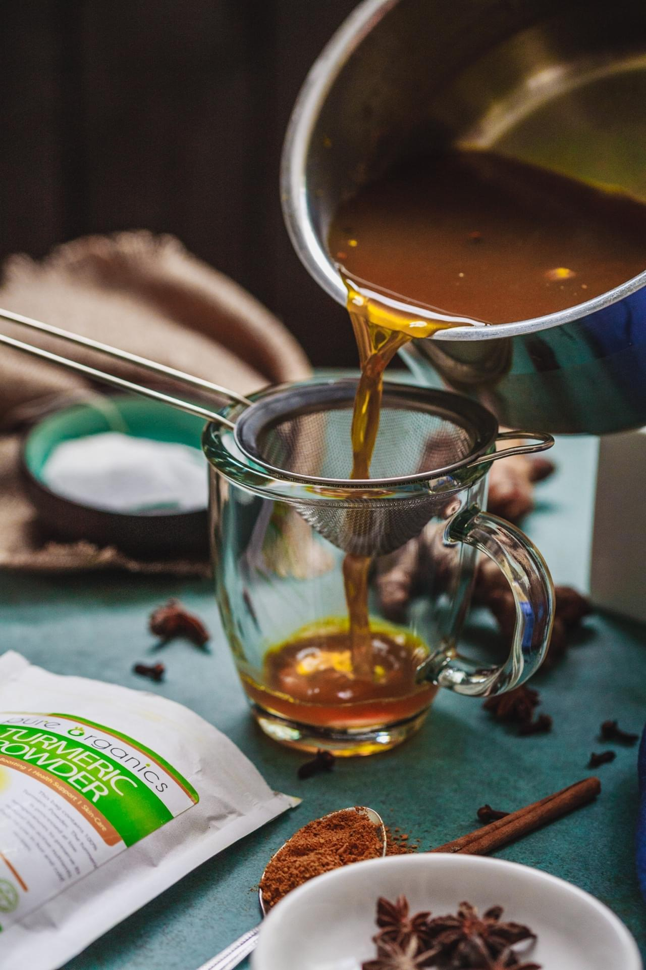 Golden Chai Latte