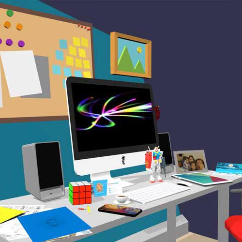 My 3D workspace