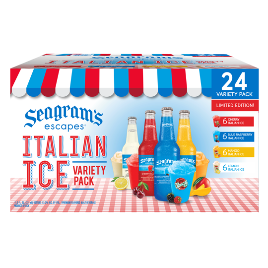 Italian Ice Variety 24 Pack