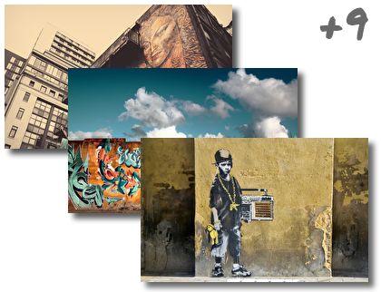 Graffiti theme pack