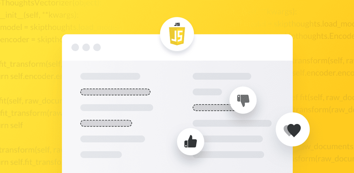 Perform Sentiment Analysis in JavaScript with A Low-Code API