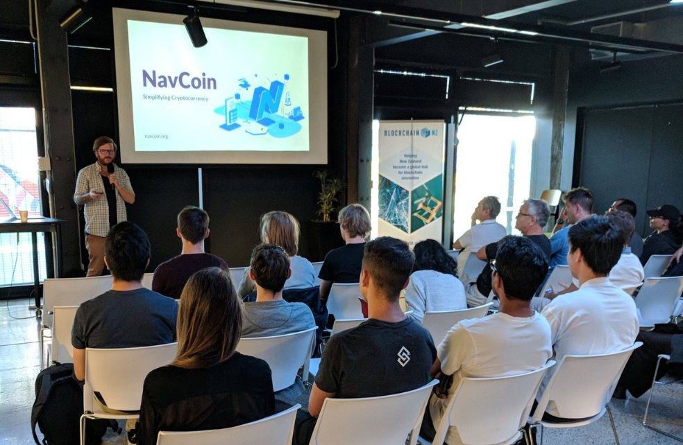 BlockchainNZ Speaker Series with NavCoin Core