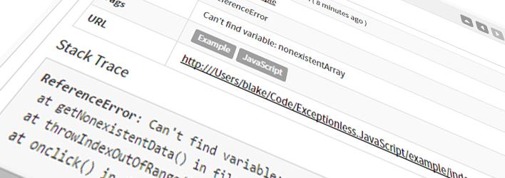 Exceptionless JavaScript Client