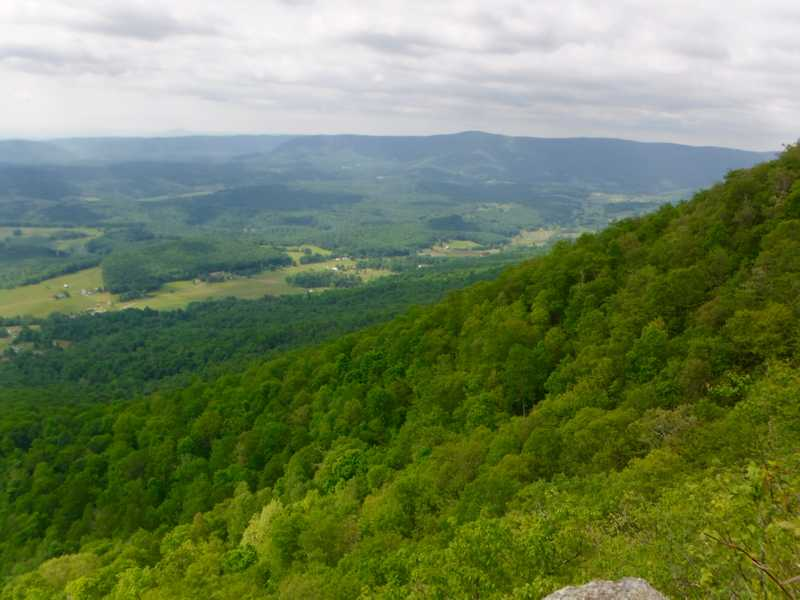 View from Pearis Ledges