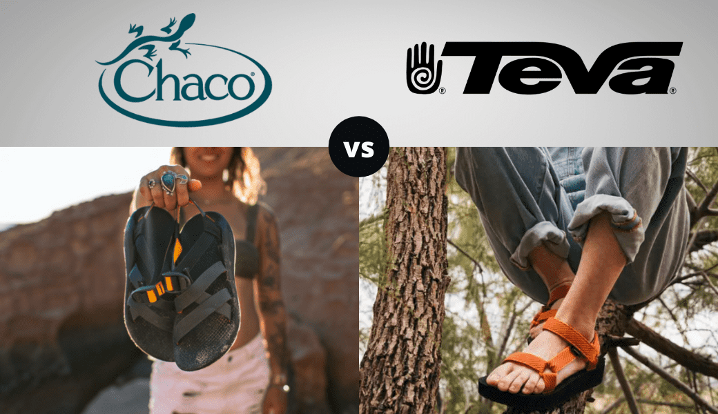 Best Sandals For Any Adventure:, Chaco vs. Teva, (2021 Review) cover image