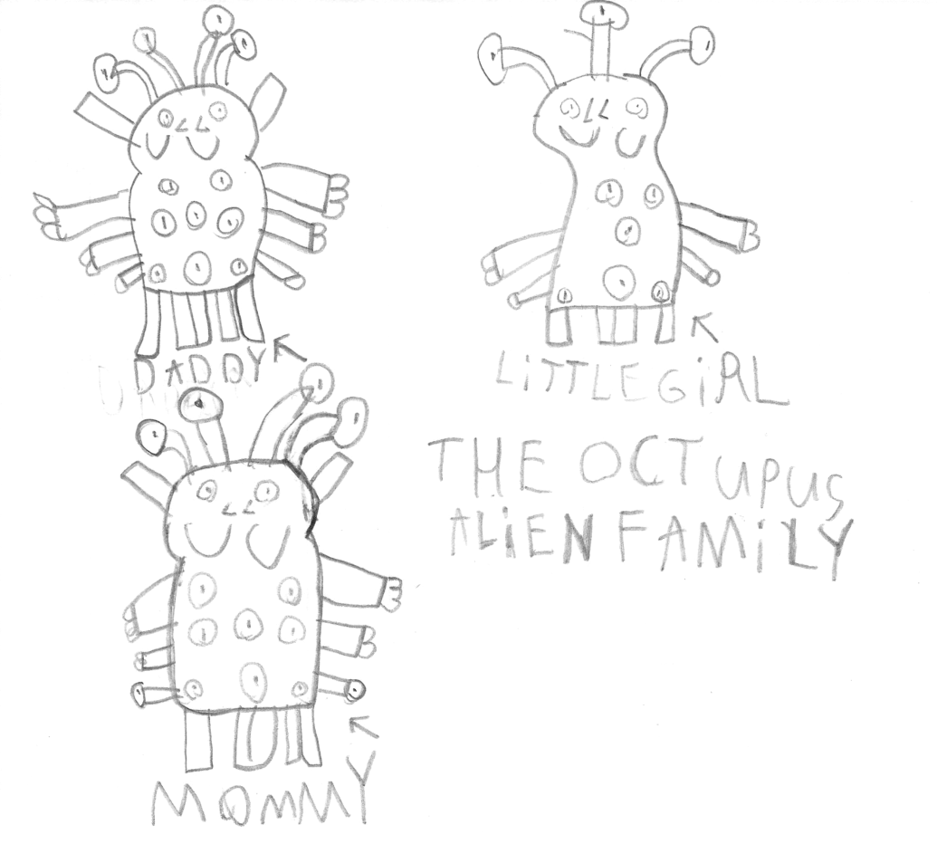 OctopusAlienFamily