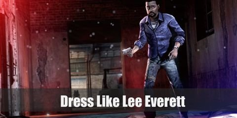 Lee Everett wears simple and comfortable clothes that are easy to move around in. Here's everything you need to look like Lee Everett