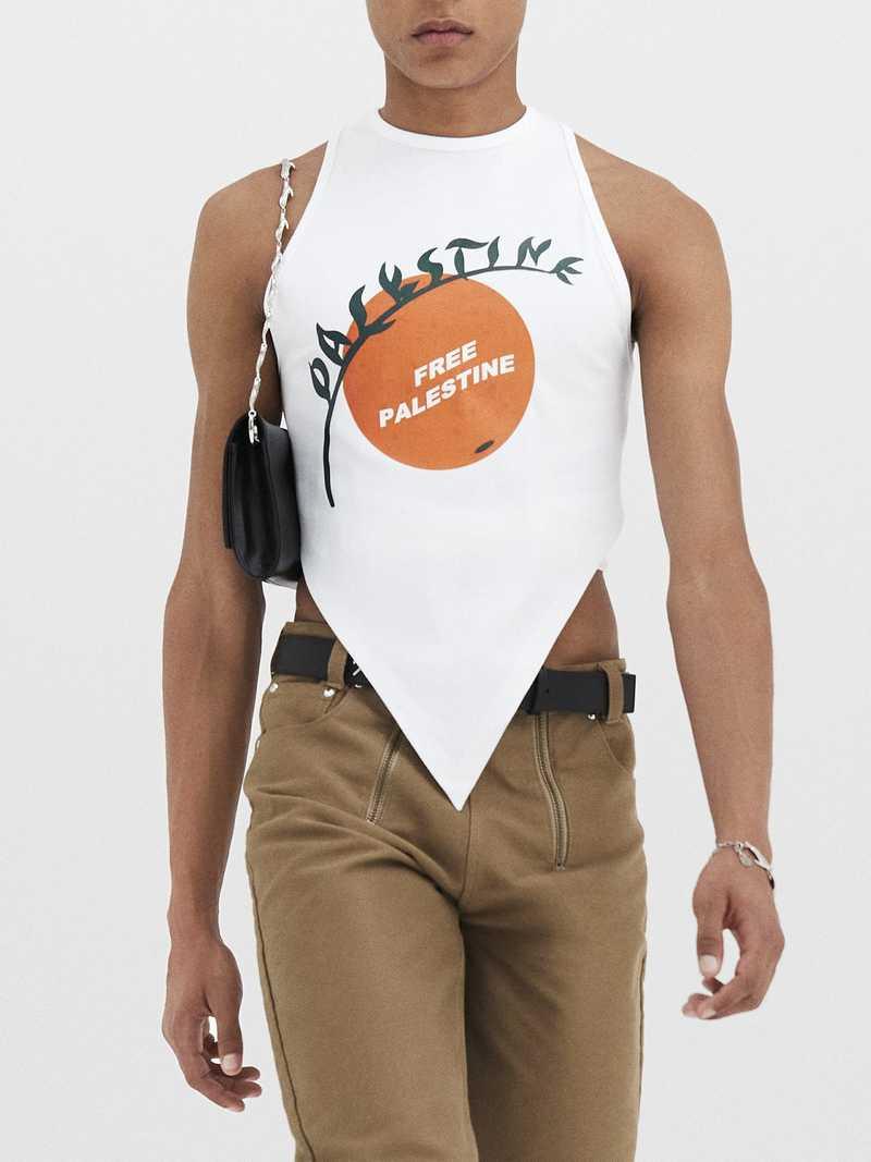 Free Palestine vest, charity