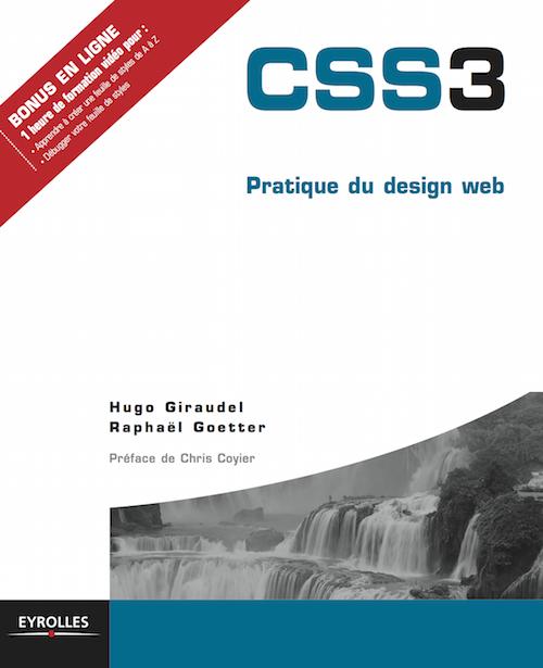 "Cover of ""CSS 3 Pratique du Design Web"""