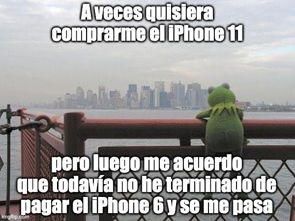Rana Rene quejándose que no puede comprar el iPhone 11 porque todavía no termina de pagar el iPhone 6