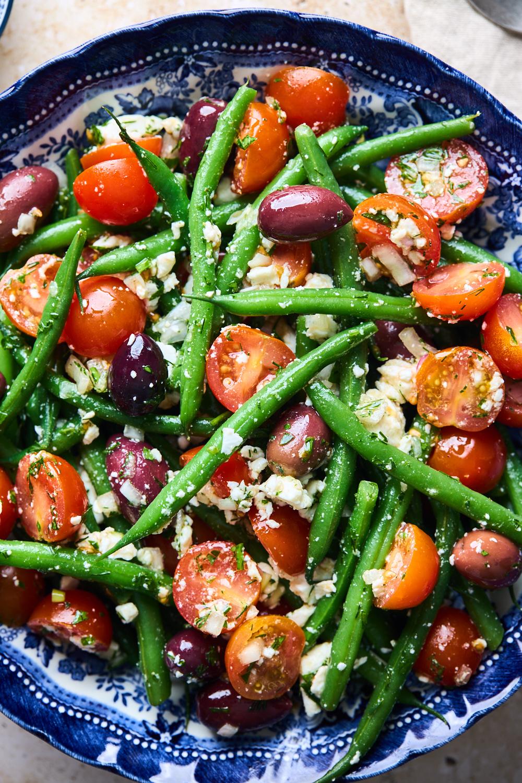 Greek Style Green Bean salsa