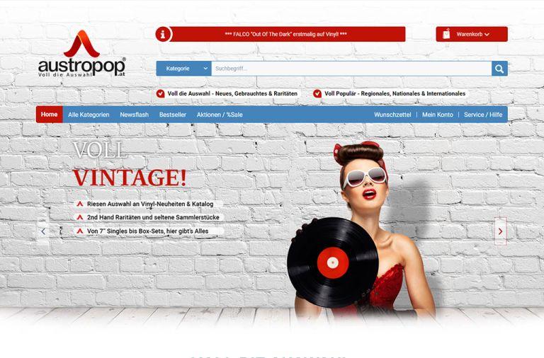 Shopware Shop Referenz: austropop