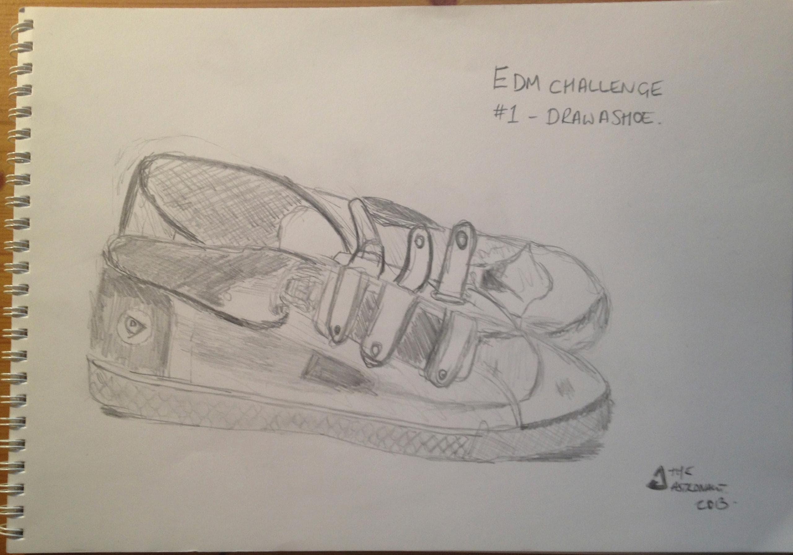 EDM #1 Draw A Shoe