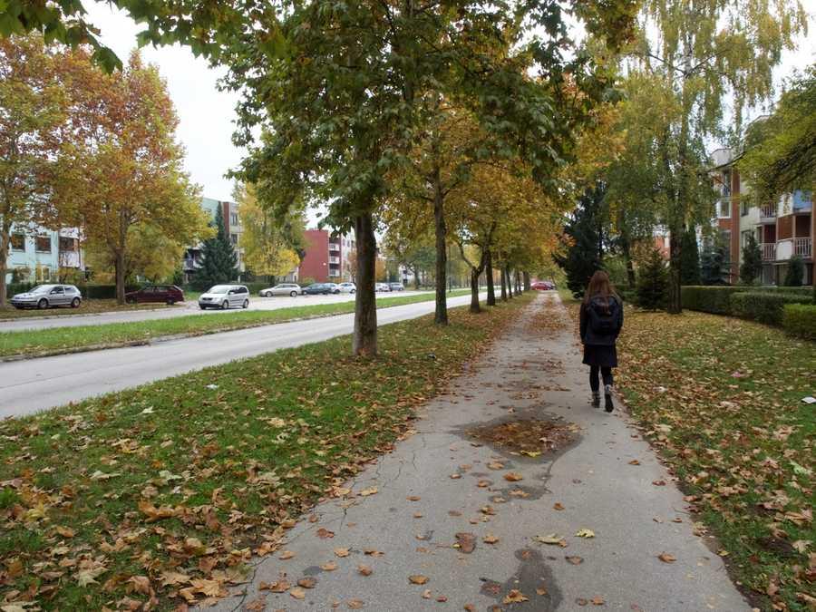 Fall in Sarajevo