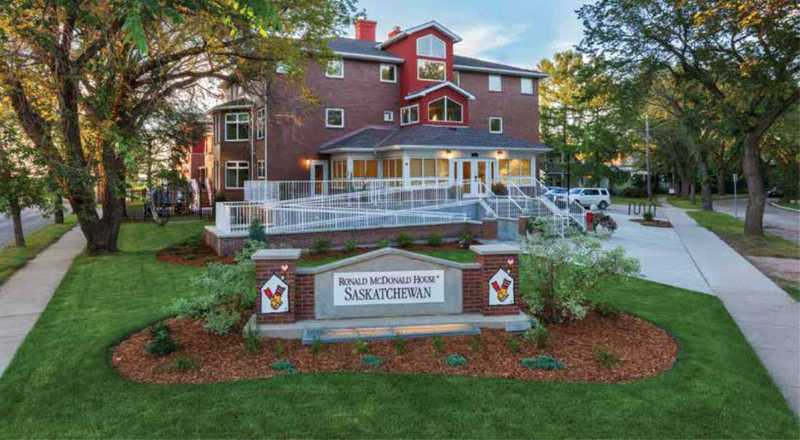 Ronald McDonald charity house in Saskatchewan