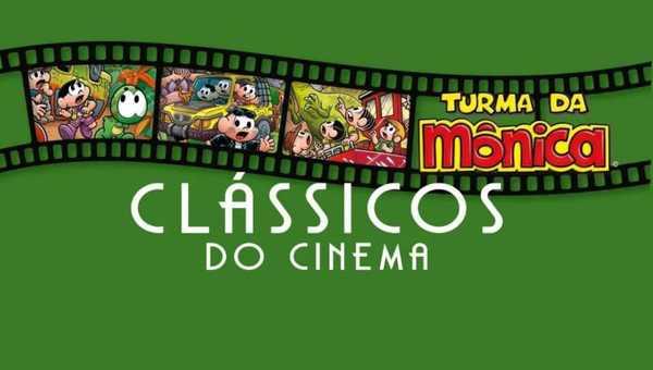 Classicos do Cinema Turma da Monica Guia Imagem de Capa