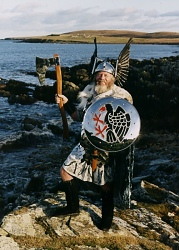 2004 Guizer Jarl Stanley Manson. Photo courtesy of John Coutts Photography.
