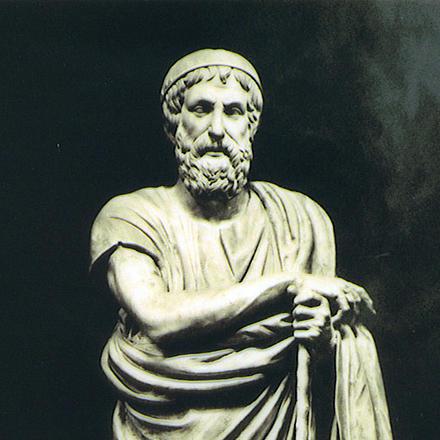 Это Гомер — одна из самых загадочных фигур в истории литературы