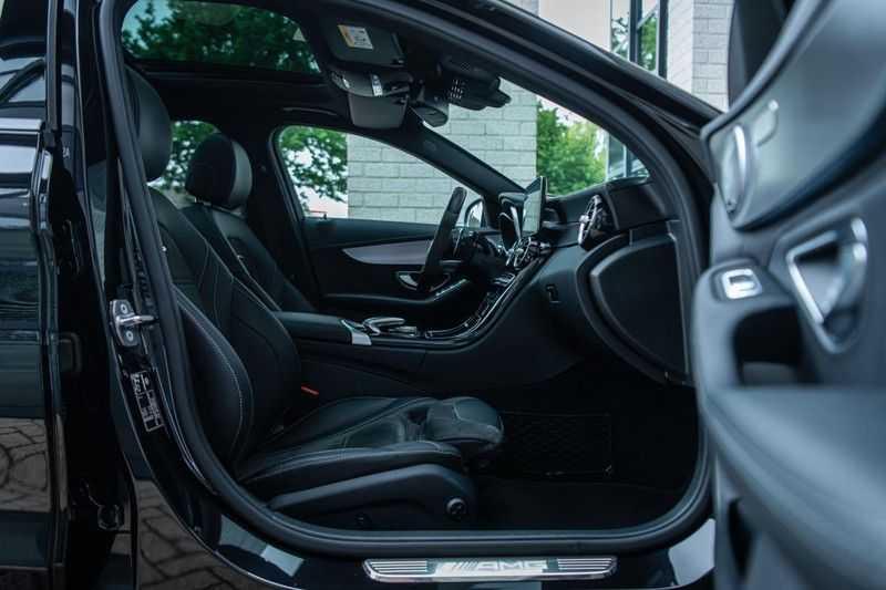 Mercedes-Benz C-Klasse 63 AMG, 476 PK, Pano/Dak, Distronic, Night/Pakket, Burmester, LED, Keyless, 30DKM, Nieuwstaat, BTW!! afbeelding 16