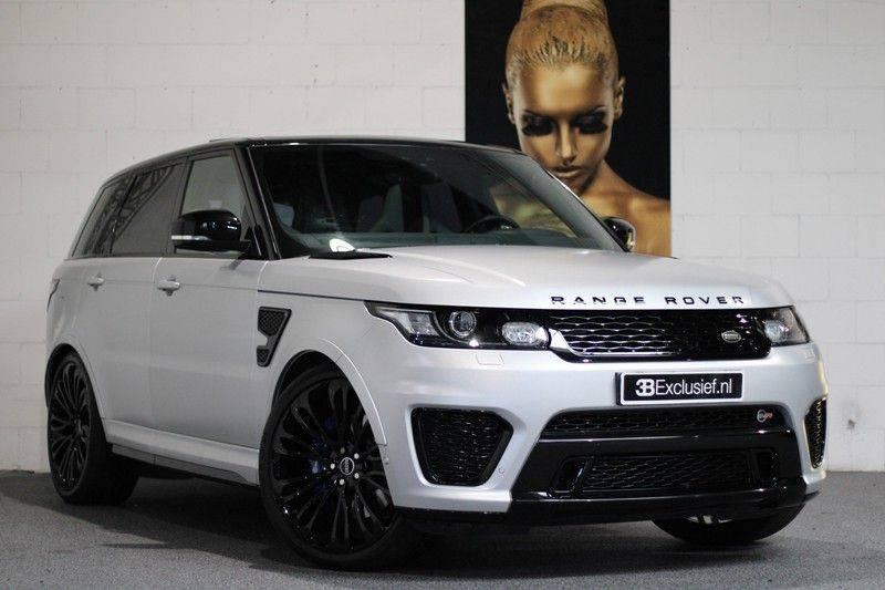 "Land Rover Range Rover Sport 5.0 V8 SVR Pano, 23"", Schaalstoelen, Carbon, afbeelding 1"