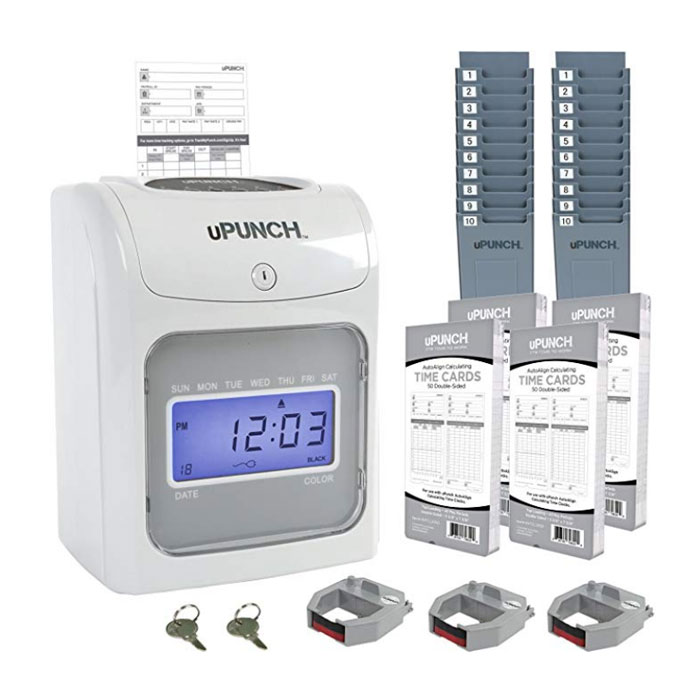 HN4500 Calculating Time Clock Bundle