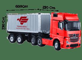 TrawlTruck - Trailer Box 20 Feet \<