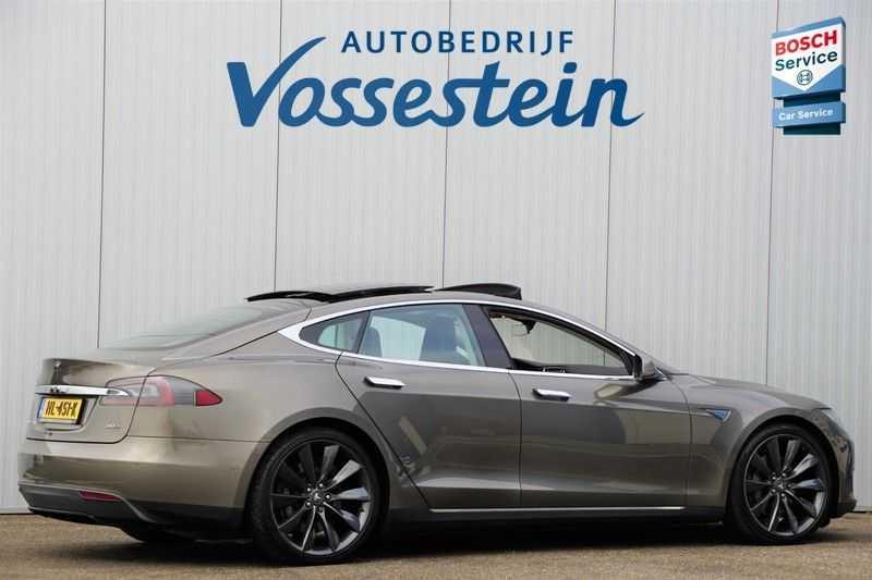"Tesla Model S 90D Base / 422 PK / Panoramadak / Luchtvering / NL-Auto / 132dkm NAP / 21"" LMV / Leder afbeelding 9"