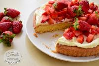 Sablé Breton with Strawberries