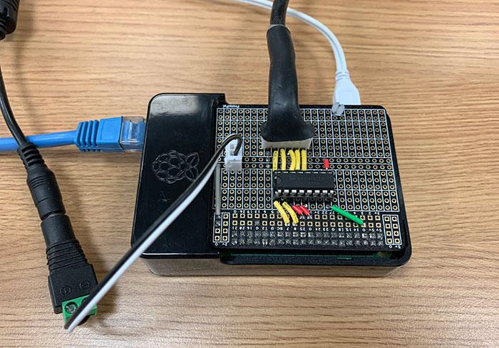 Assembled Pi Light Controller