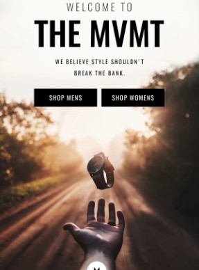 MVMT Welcome email