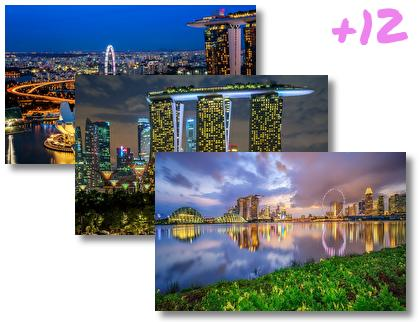 Singapore theme pack