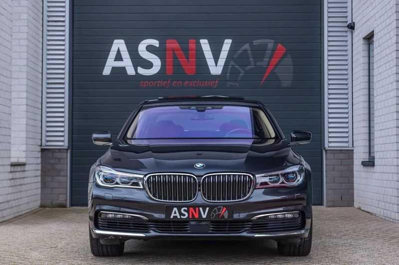 BMW 7 Serie 750i xDrive High Executive, 450 PK, Schuifdak, Gesture Control, Display/Key, Massage, Head/Up, Surround view, 56DKM!! afbeelding 25